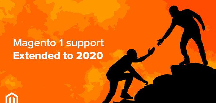 El soporte técnico para Magento 1 se prolongará hasta junio 2020