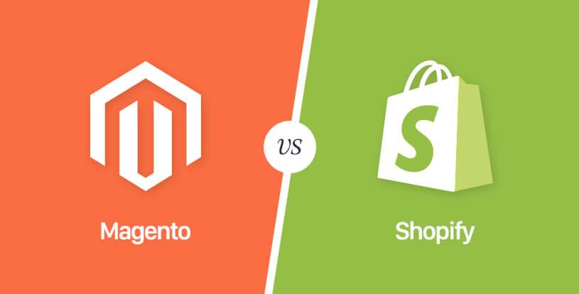 Magento Open Source vs Shopify: comparamos ambos CMS para saber cuál elegir