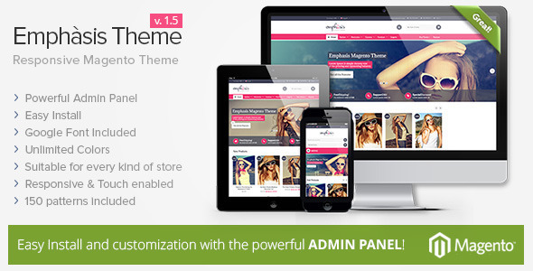 Emphasis Theme: il nuovo template responsive per Magento Commerce