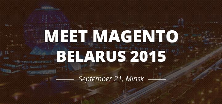 Meet Magento Belarus - 21 settembre 2015