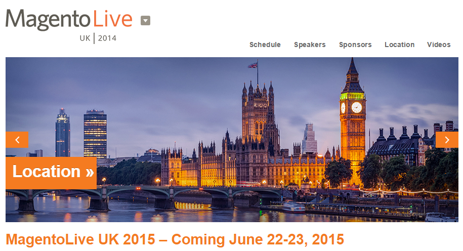 MagentoLive UK - 22 e 23 Giugno 2015