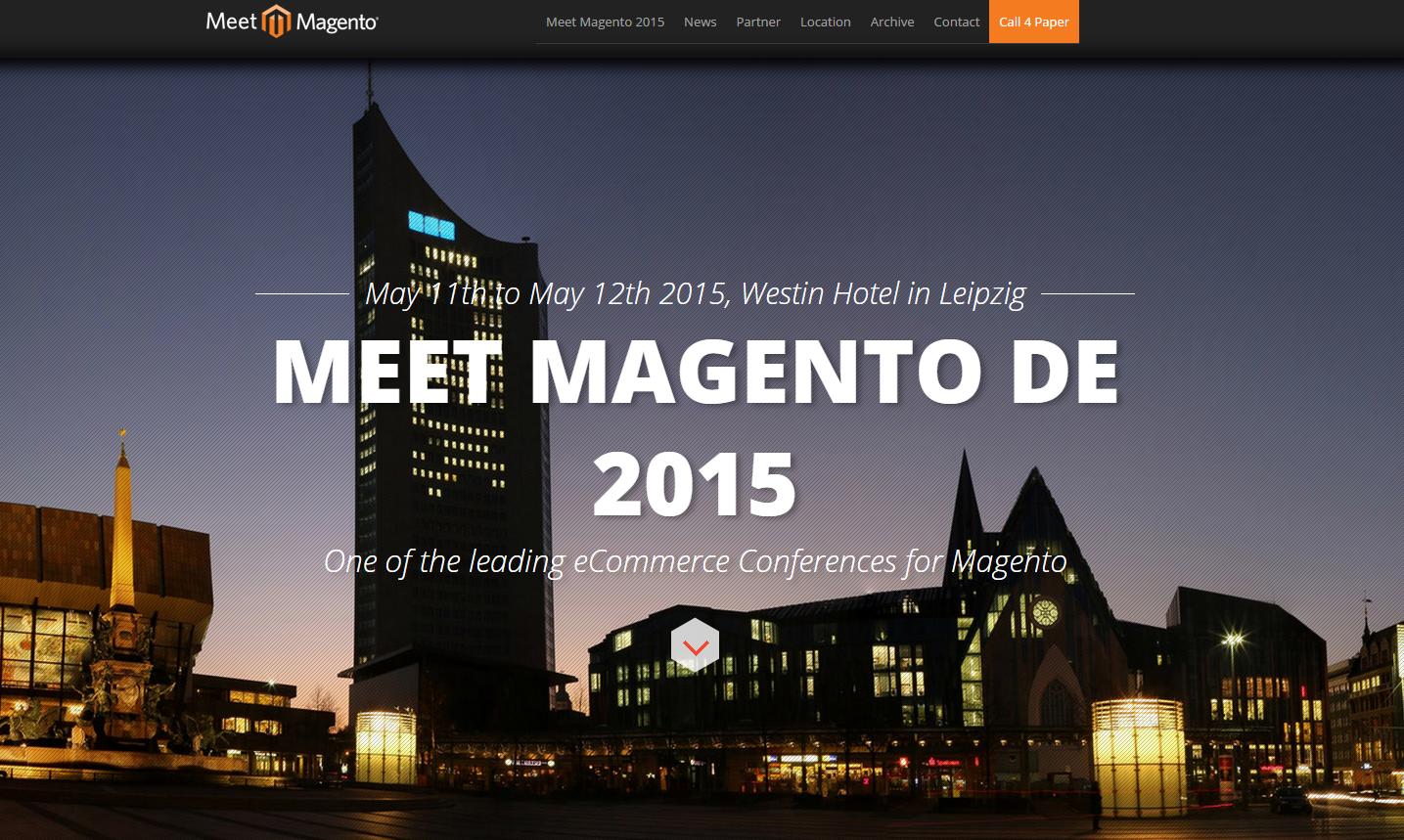 Meet Magento Germany - 11 e 12 Maggio 2015