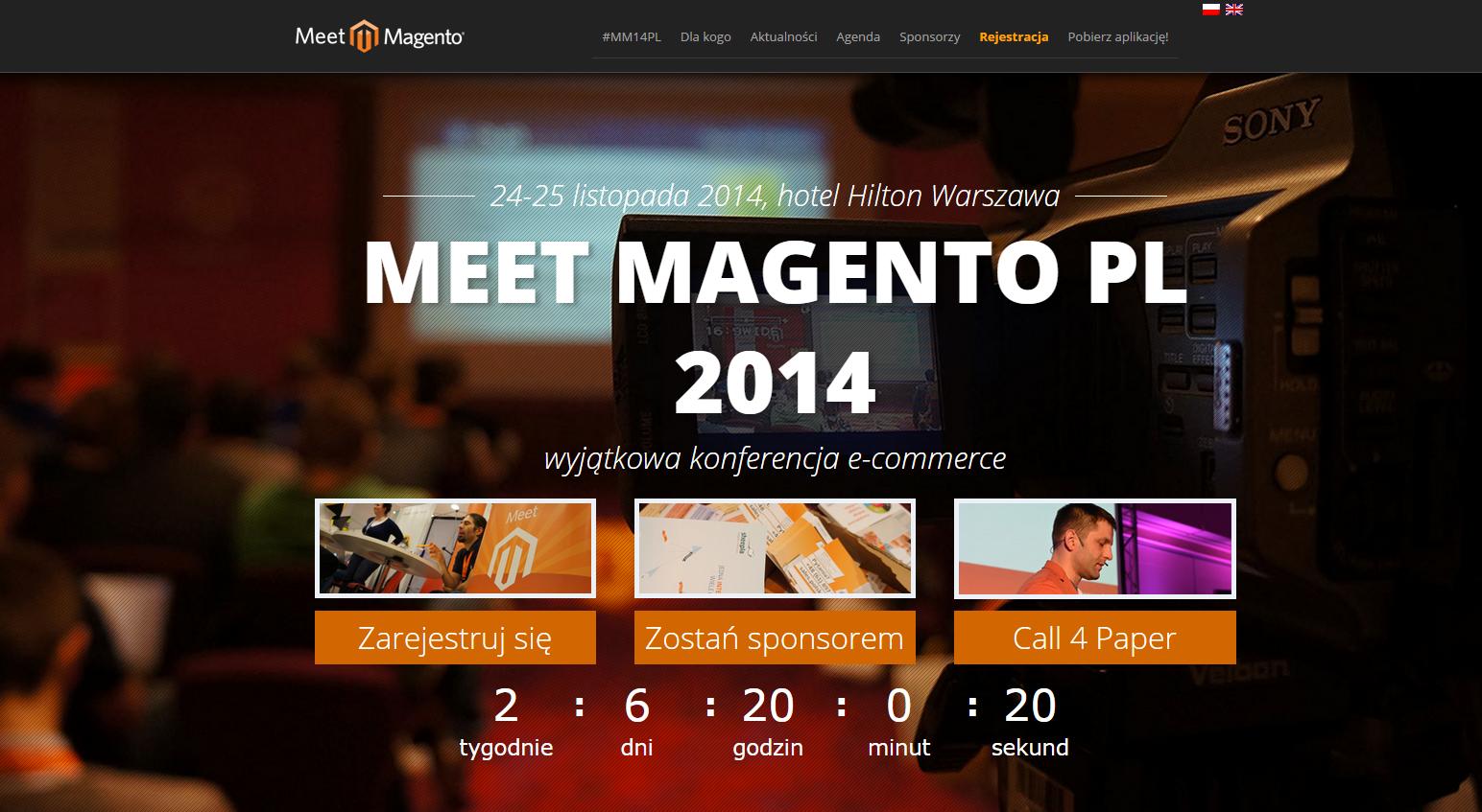 Meet Magento Poland - 24 e 25 Novembre 2015 Varsavia