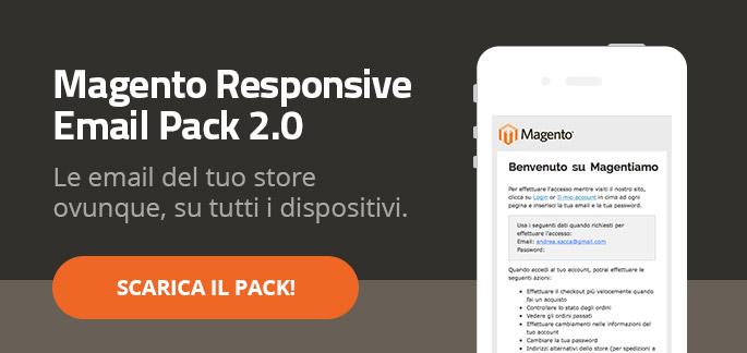Email Transazionali Responsive per Magento: Scarica il pack gratis!