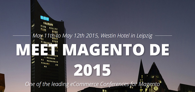 Meet Magento Germany - 11 e 12 Maggio 2015 - Lipsia