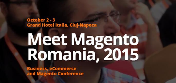 Magentiamo partner del Meet Magento Romania - 2 e 3 Ottobre 2015
