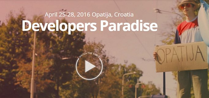 Developers Paradise Magento Edition 25 - 28 Aprile 2016 - Croazia