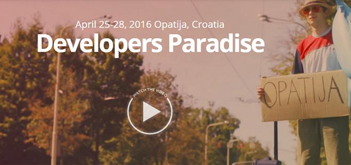 Developers Paradise Magento Edition 25 - 28 Aprile 2016 - Croazia