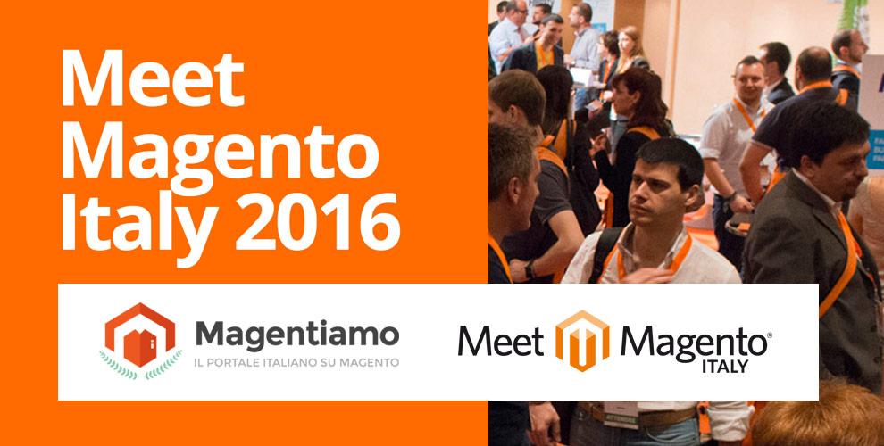 Magentiamo è supporter della 3° Edizione del Meet Magento Italy - Milano 3 e 4 Marzo 2016