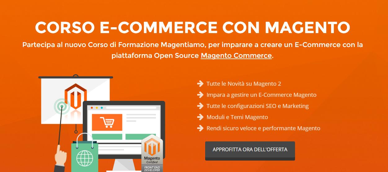 Corso E-Commerce con Magento Roma 30-31 Ottobre 2016 by MagenTiamo!