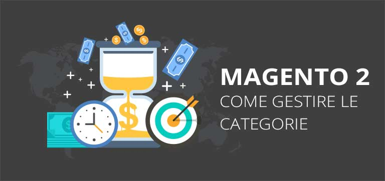 Come gestire le categorie in Magento 2