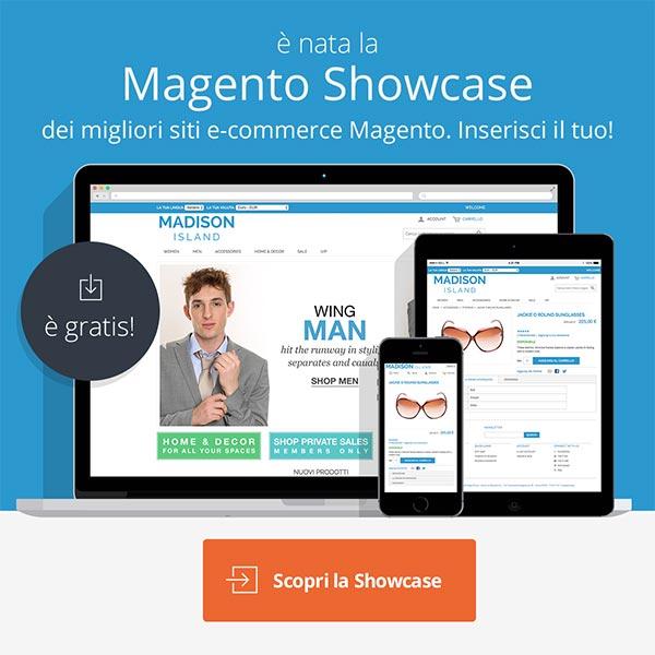 Magento Showcase: la nuova gallery di siti Magento