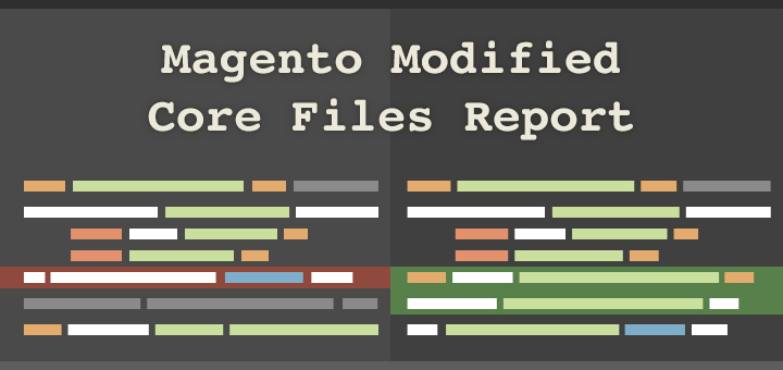 Come verificare la presenza di modifiche ai Core Files di Magento