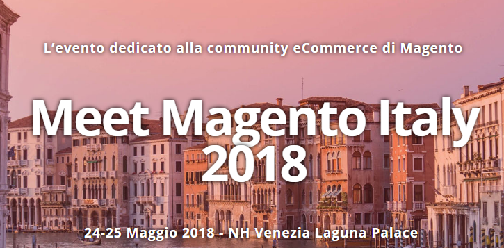Meet Magento Italy 2018 - Coupon Sconto