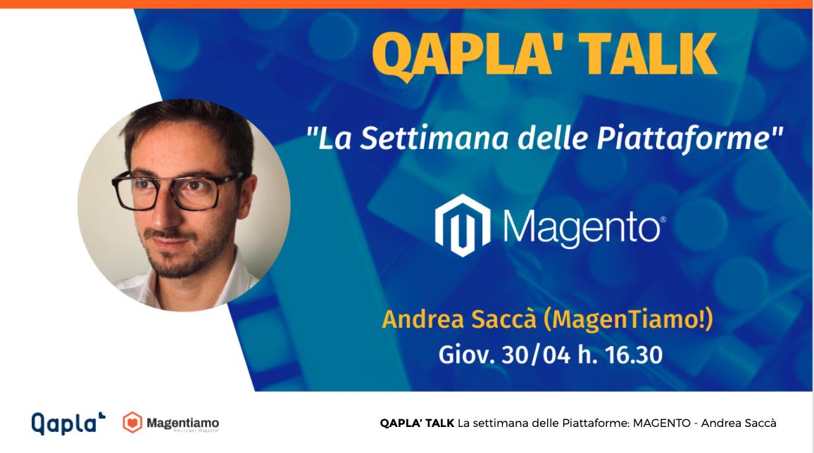 Qapla' Talk 14 Magento2 e il case study Tosoni Selleria su prestazioni e velocità Magento 2