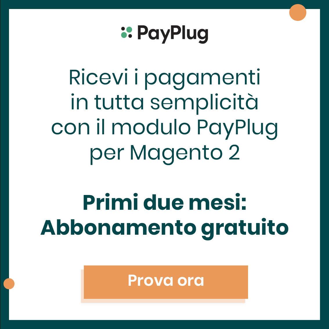 Payplug Magento