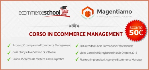 corso in ecommerce management