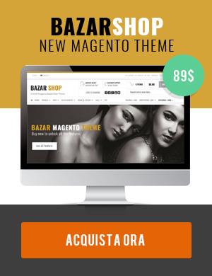 Bazar Magento Theme